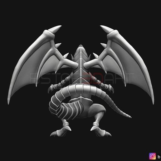04.jpg Télécharger fichier STL yeux bleus dragon blanc - Yu Gi Oh • Modèle à imprimer en 3D, Bstar3Dart