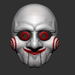 3d printer model Saw Billy Puppet - Mask for Cosplay - 3D print model - STL file, Bstar3Dprint