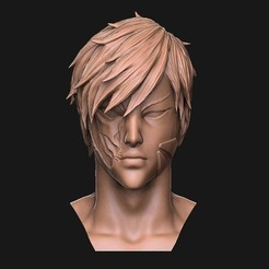 Download free 3D printer templates genos bust - Onepunch man, Bstar3Dart