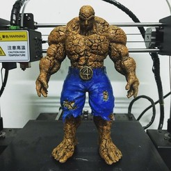 FB1DDDE9-40CB-45E9-A4C3-7597DBA69A55.jpeg Download STL file The Thing - Fantastic Four - Marvel  • 3D printer model, Bstar3Dart