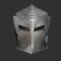 Impresiones 3D Casco Skyrim Dawnguard, Bstar3Dart