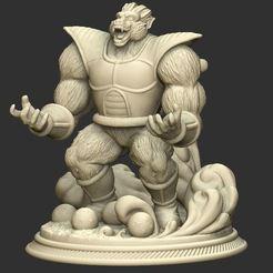 Download 3D printing models Oozaru Vegeta - Dragon ball 3D print model, Bstar3Dart