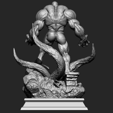 7.JPG Download STL file Super Venom - Marvel 3D print model • 3D printer model, Bstar3Dart