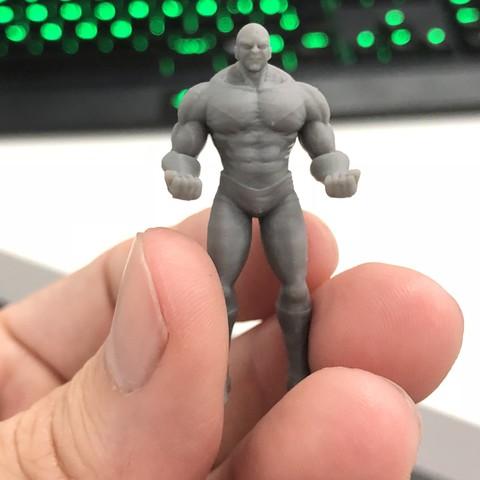 image1.jpeg Download OBJ file Jiren Dragonball Super Real version • 3D print object, Bstar3Dart