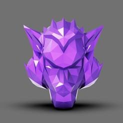 001.jpg Download STL file Polygon Head Kong • 3D printing object, Bstar3Dart