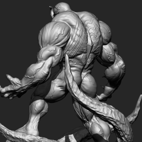 15.JPG Download STL file Super Venom - Marvel 3D print model • 3D printer model, Bstar3Dart