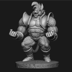 3D printing model Oozaru Baby - Dragon ball - 3D print model , Bstar3Dprint