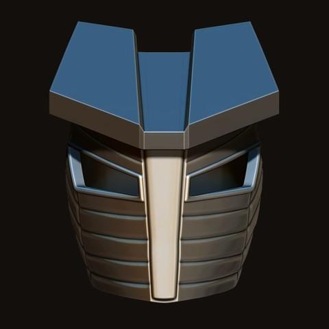 11.JPG Download STL file Destroyer Helmet from Marvel 3D print model • 3D printer object, Bstar3Dart