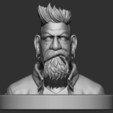 1.JPG Download STL file Zombie Hunter Bust  • Template to 3D print, Bstar3Dart
