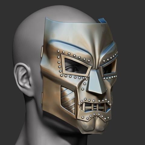9.JPG Download STL file Doom mask - Helmet Marvel 3D print model • 3D printable model, Bstar3Dart