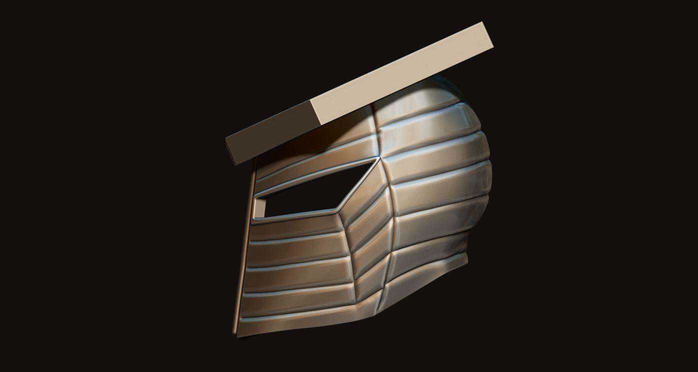 13.JPG Download STL file Destroyer Helmet from Marvel 3D print model • 3D printer object, Bstar3Dart