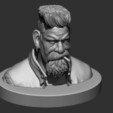 9.JPG Download STL file Zombie Hunter Bust  • Template to 3D print, Bstar3Dart