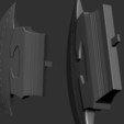 16.JPG Download OBJ file AXE-Warhammer • Object to 3D print, Bstar3Dart