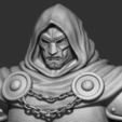 STL files Dr-Doom from marvel Comic, Bstar3Dprint