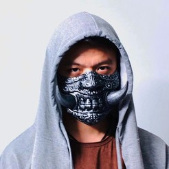 Download 3D printing files Face mask - Hannya Covid Mask, Bstar3Dart
