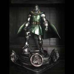 STL files Dr-Doom from marvel Comic, Bstar3Dprint