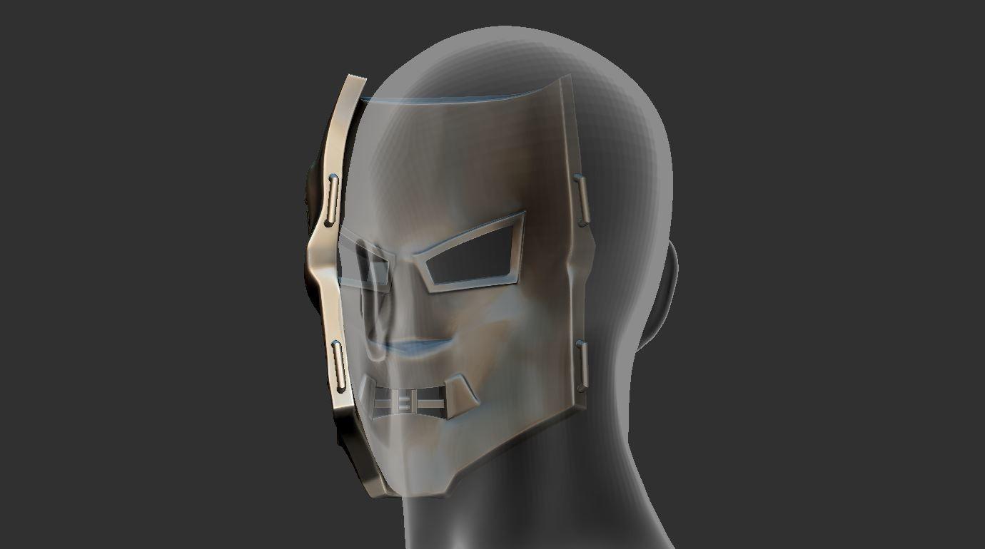10.JPG Download STL file Doom mask - Helmet Marvel 3D print model • 3D printable model, Bstar3Dart