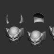 Download 3D printer designs Wolverine Mask - Helmet for Cosplay 1:1, Bstar3Dart