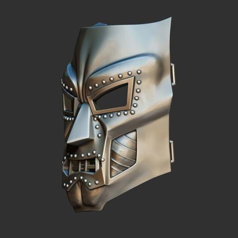 2.JPG Download STL file Doom mask - Helmet Marvel 3D print model • 3D printable model, Bstar3Dart
