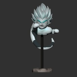 Télécharger fichier STL GotenKS Ghost version 01 de Dragon Ball Z, Bstar3Dart