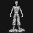 Download 3D printer model GOKU super saiyan v2 - Dragonball Super, Bstar3Dart