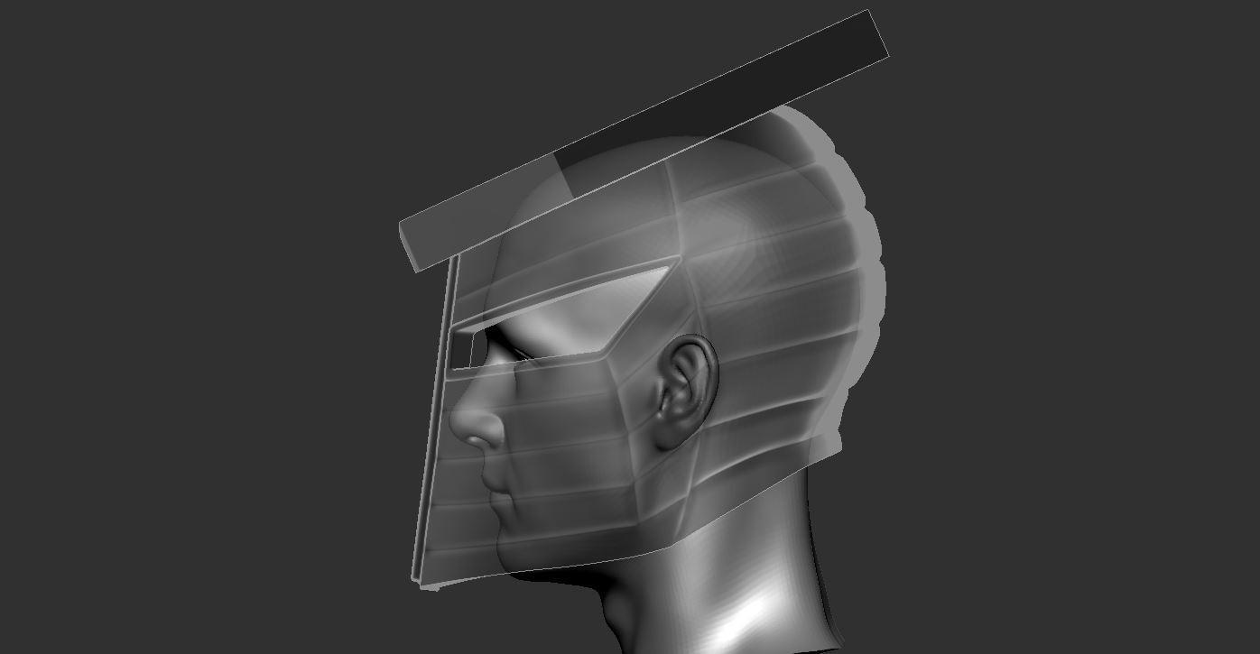 9.JPG Download STL file Destroyer Helmet from Marvel 3D print model • 3D printer object, Bstar3Dart
