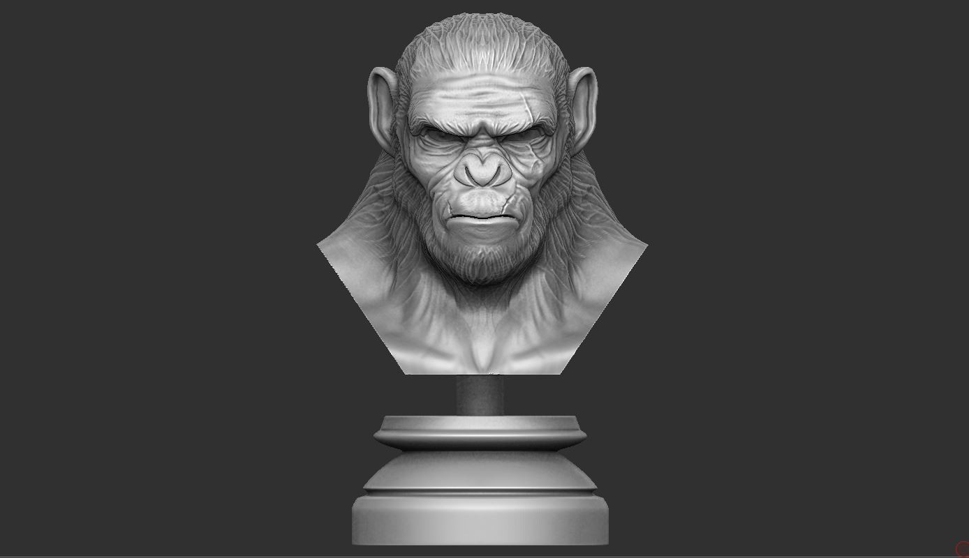 1.JPG Download OBJ file Koba Monkey • 3D print model, Bstar3Dart