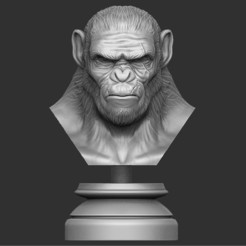 STL files Koba Monkey, Bstar3Dprint
