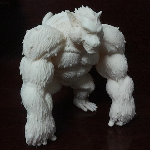 3d model Oozaru - Goku - Dragonball Z, blackstar90