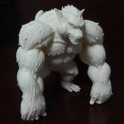 STL files Oozaru - Goku - Dragonball Z, Bstar3Dprint