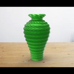 001.jpg Download STL file Twist Vase  • 3D printing model, Bstar3Dart