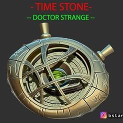 Download 3D printer model Eye Of Agamotto - TIME STONE - Doctor Strange - in MARVEL, Bstar3Dart