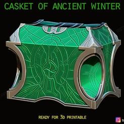 01.jpg Download STL file Casket Of Ancient Winter - Marvel Comic • 3D printer design, Bstar3Dart