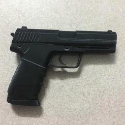 modelos 3d Pistola, blackstar90
