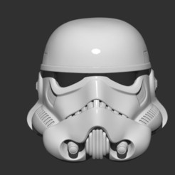 STL files Stormtrooper Helmet - Star war, Bstar3Dprint
