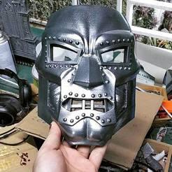 stl files Doom mask - Helmet Marvel 3D print model, blackstar90