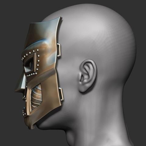 7.JPG Download STL file Doom mask - Helmet Marvel 3D print model • 3D printable model, Bstar3Dart