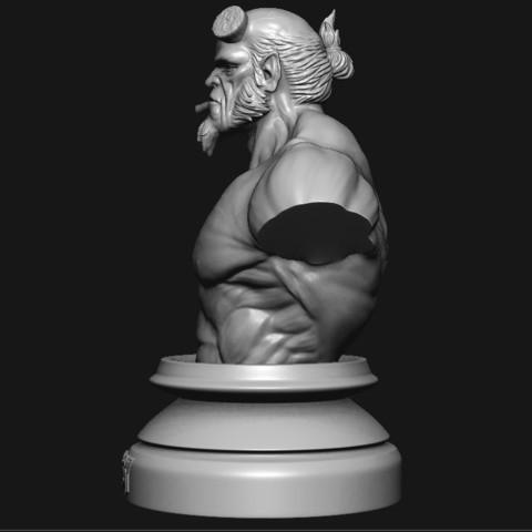 3.JPG Download STL file HELLBOY 2019 • 3D printable model, Bstar3Dart