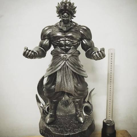 STL file Broly High Quality Figure - dragonball FighterZ, Bstar3Dprint