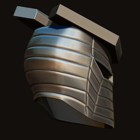 16.JPG Download STL file Destroyer Helmet from Marvel 3D print model • 3D printer object, Bstar3Dart
