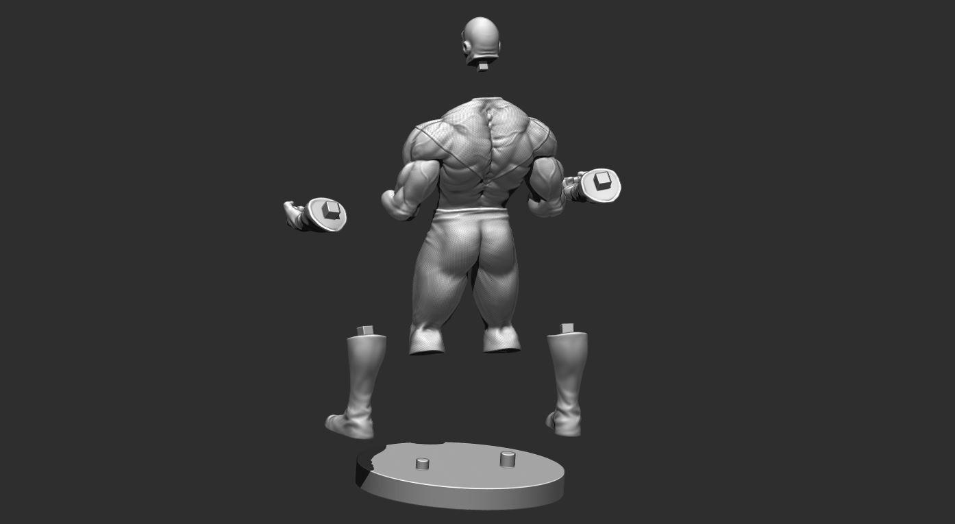 23.JPG Download OBJ file Jiren Dragonball Super Real version • 3D print object, Bstar3Dart