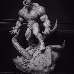 Diseños 3D Super Venom - Modelo de impresión en 3D de Marvel, Bstar3Dprint