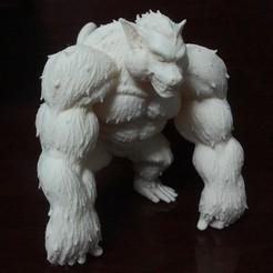 Fichier 3D Oozaru - Goku - Dragonball Z, blackstar90