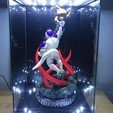 STL file Super Frieza fighting from Dragon Ball Z 3D print model, Bstar3Dprint