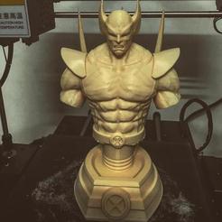 3D printer models Wolverine Bust - Marvel 3D print model 3D print model, Bstar3Dprint