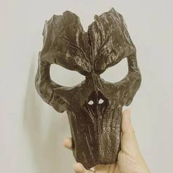 STL files Death Mask - Darksiders 3D print model, Bstar3Dprint