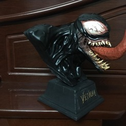 3D printer files Venom Bust - Marvel 3D print model, Bstar3Dprint
