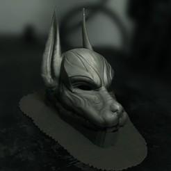 3D printing model Anubis Helmet For Cosplay, Bstar3Dprint