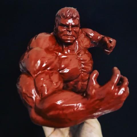 STL SUPER HULK - Super Héroe - Marvel, Bstar3Dprint