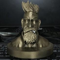 Descargar modelo 3D Busto Cazador de Zombis, Bstar3Dart
